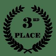 3 place wedding film awards CRYSTAL 2017