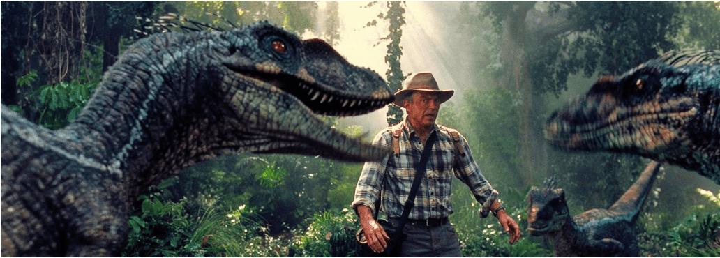 Efectos especiales en la Jurassic Park