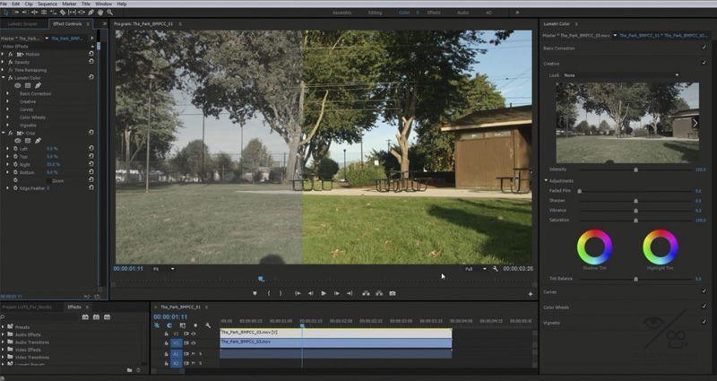 Que es un LUT o como editar color con Premiere CC